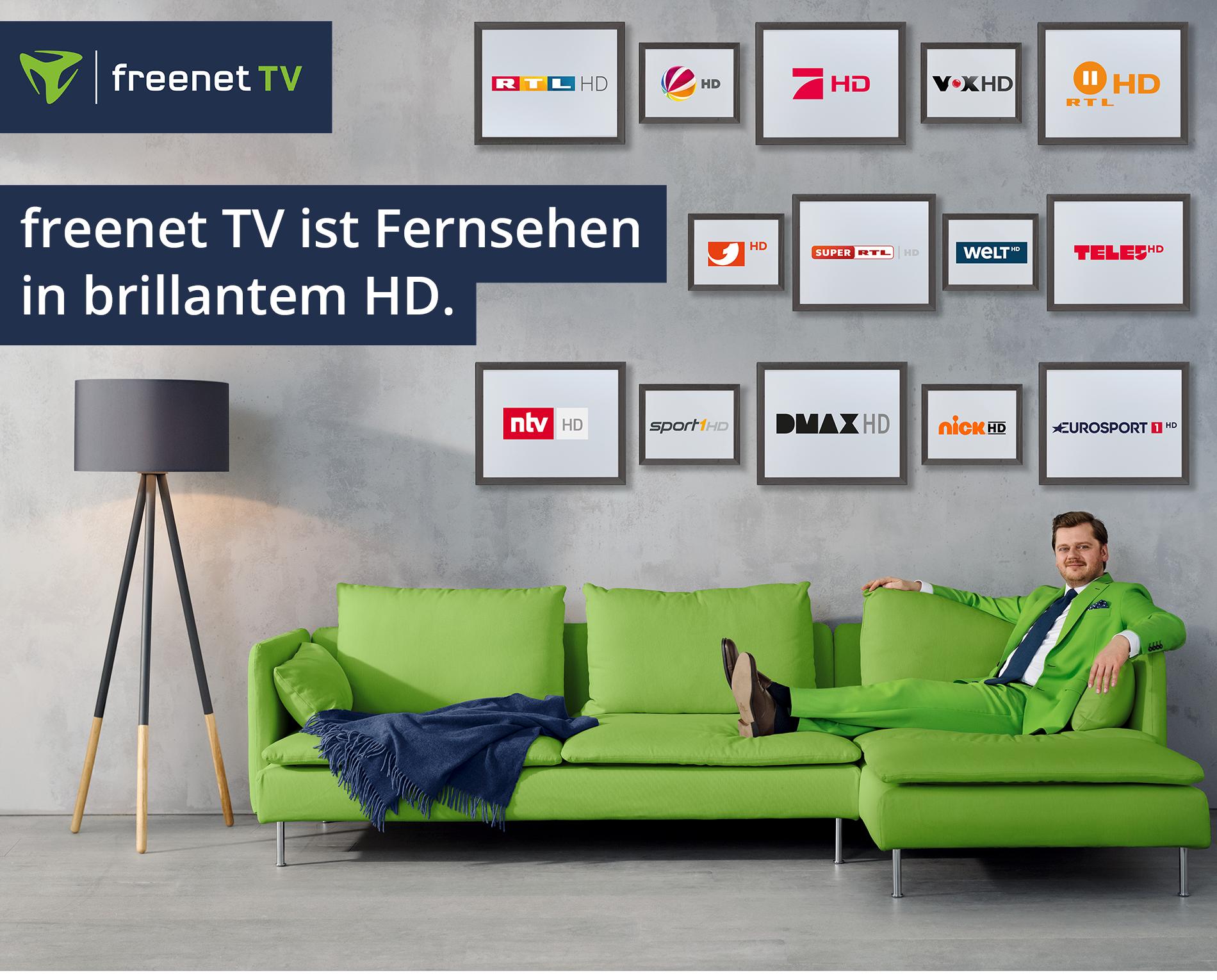 freenet TV & Fernseher mit 0% Finanzierung