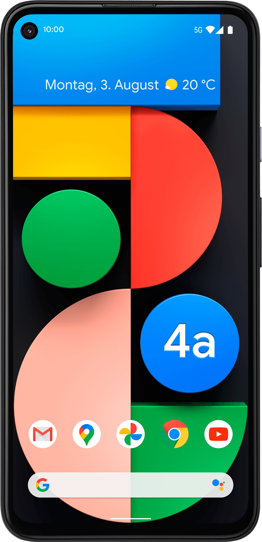 Geräteabbildung Google Pixel 4a 5G
