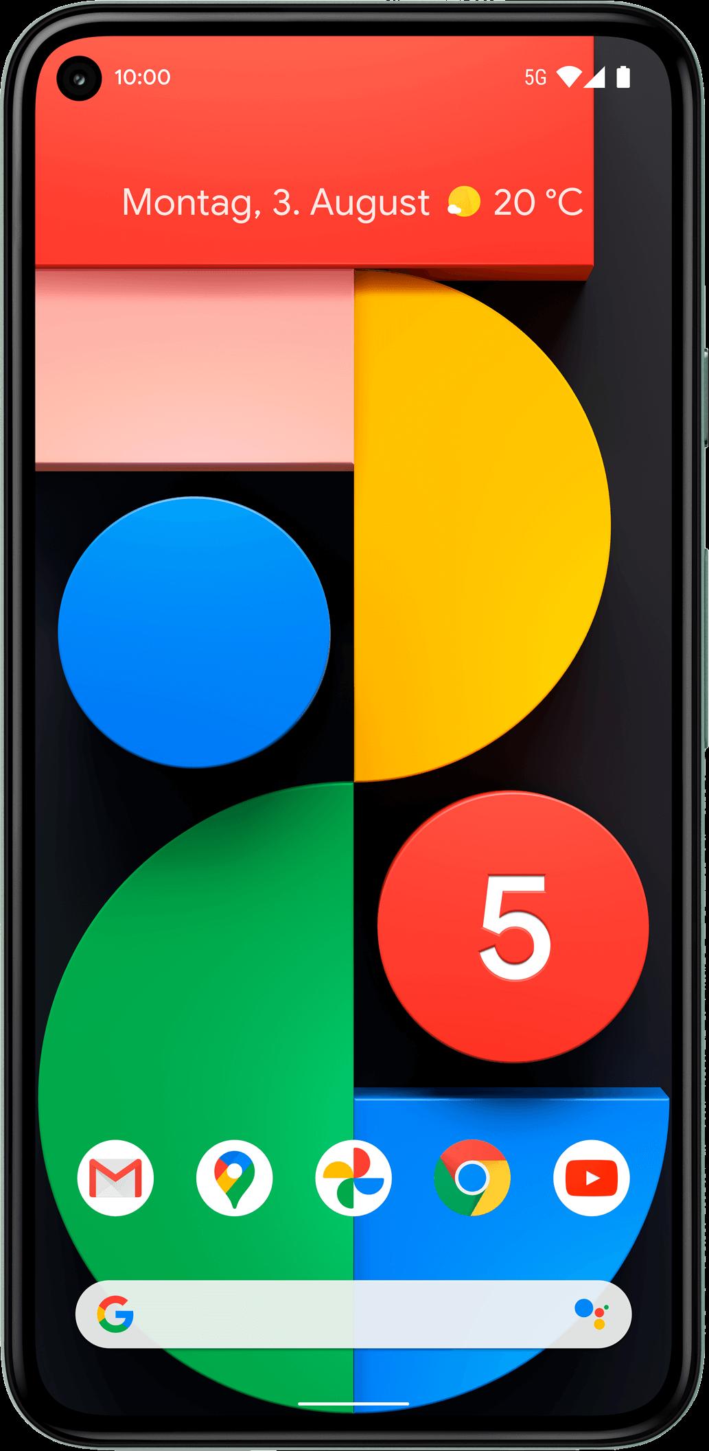 Geräteabbildung Google Pixel 5
